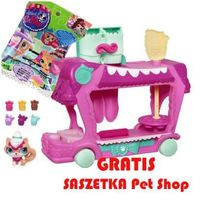 Hasbro Littlest pet shop ciezrówka pełna słodyczy a1356 (5010994686970)