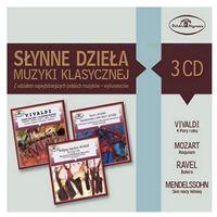 Słynne dzieła muzyki klasycznej (3CD) - Dostawa zamówienia do jednej ze 170 księgarni Matras za DARMO