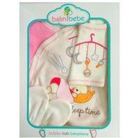 Wyprawka niemowlęca 5el. śpiący miś i karuzela 56 marki Balin bebe
