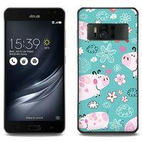 Fantastic case - asus zenfone ar - etui na telefon fantastic case - różowe świnki marki Etuo.pl