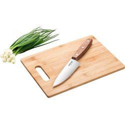 Lamart Deska do krojenia lt2059 (30 x 22 cm) drewniany + nóż (8590669191758)