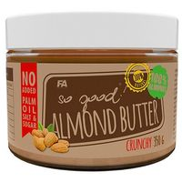 Fitness authority  so good almond butter - 350g - crunchy (5902052817016)