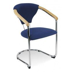 Nowy styl Krzesło kelly - do poczekalni i sal konferencyjnych, konferencyjne, na nogach, stacjonarne