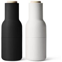Młynek 2 szt bottle grinder carbon&ash marki Menu