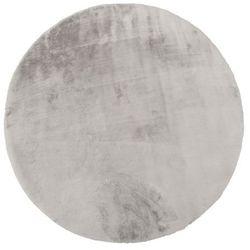 Dywan okrągły Bella 80 cm szary (5907736272471)