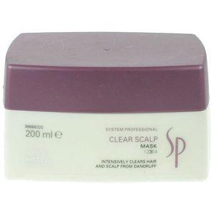 Wella SP Clear Scalp - maska przeciwłupieżowa 200ml, 20822