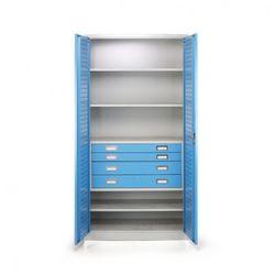 B2b partner Szafa warsztatowa z szufladami, 1850x900x500 mm