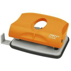 Easy, dziurkacz plastikowy, pomarańczowy, 15 kartek - produkt z kategorii- Pozostałe artykuły szkolne i plastyczne