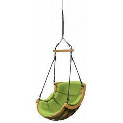 Zielona huśtawka ogrodowa - Pasos 6X, fotel_wiszący_belka