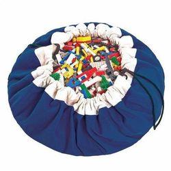 Worek na zabawki  - niebieski wyprodukowany przez Play&go