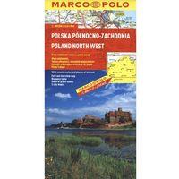 Polska Północno - Zachodnia. Mapa Marco Polo 1:300 000