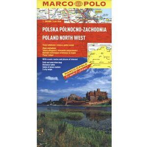 Polska Północno - Zachodnia. Mapa Marco Polo 1:300 000, praca zbiorowa