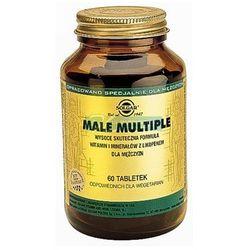 SOLGAR Male Multiple witaminy i minerały dla mężczyzn - tabletki Witaminyi minerały