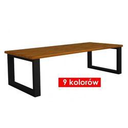Ława ogrodowa norin 180x76x47 - 9 kolorów marki Elior.pl