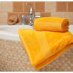 ręcznik evora żółty, 70x140 cm marki Dekoria
