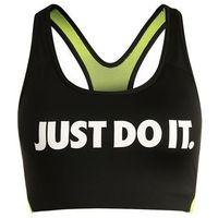 Nike Performance PRO CLASSIC SWOOSH COOLING Biustonosz sportowy black/volt/white (0884497844091)