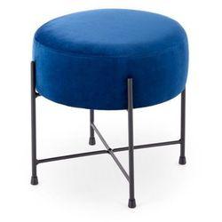 Pufa Niva granatowa granatowy, kolor niebieski