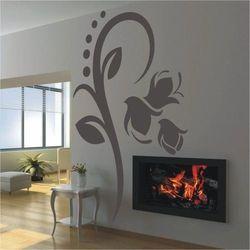 Wally - piękno dekoracji Szablon malarski kwiaty 073