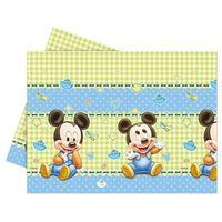 Obrus urodzinowy Mały Mickey - 120 x 180 cm - 1 szt.