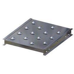 Stół kulowy, wys. konstrukcji 70 mm, szer. przenośnika 400 mm, dł. 500 mm, podzi