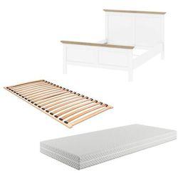 Zestaw łóżko paris 140x200 cm marki Tvilum