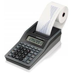 Kalkulator drukujący CITIZEN CX-77BNN, 12-cyfrowy, 200x102mm, czarno-antracytowy (4562195133841)