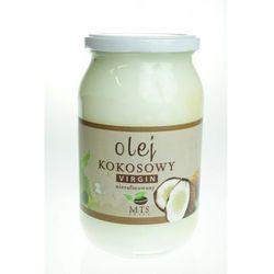 Olej kokosowy tłoczony na zimno nierafinowany virgin 900ml MTS - produkt z kategorii- Zdrowa żywność