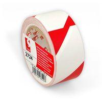 Taśma ostrzegawcza  2724 - biało - czerwona marki Scapa