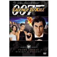 James Bond ekskluzywna edycja 2-płytowa: 007 Licencja na zabijanie (DVD) - John Glen, Richard Maibaum