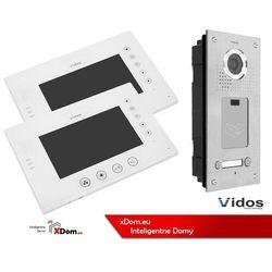 Zestaw dwurodzinny wideodomofonu z czytnikiem kart rfid s562a_m670ws2 marki Vidos