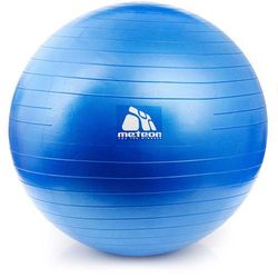 Meteor Piłka fitness blue 65 cm z pompką