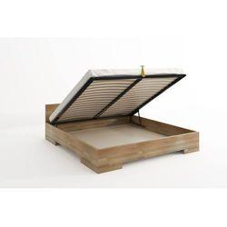 Łóżko drewniane bukowe ze skrzynią na pościel spectrum maxi & long st 90-200x220 marki Skandica