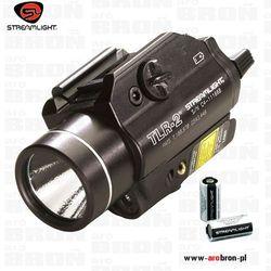 Latarka taktyczna Streamlight TLR-2 do montażu na broń z laserem