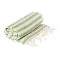 Sauna Łażnia - Hammam Ręcznik 60% Bawełna / 40% Bambus Zebra 2 Zielona