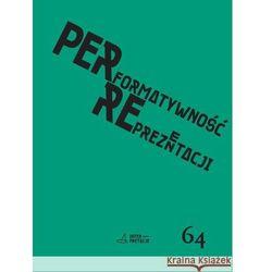 Performatywność reprezentacji, książka z kategorii Dramat