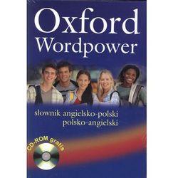 Oxford Wordpower słownik angielsko-polski polsko-angielski + CD, książka w oprawie miękkej