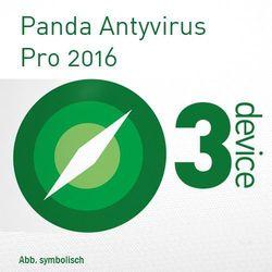 Panda  antivirus pro 2016 multi device pl esd 3 urządzenia