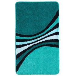 """Dywaniki łazienkowe """"milan"""" niebieskozielony morski marki Bonprix"""