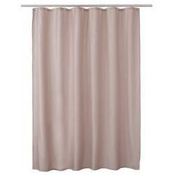 Zasłonka prysznicowa Diani 180 x 200 cm beżowa, S01-PLAIN PEBBLE