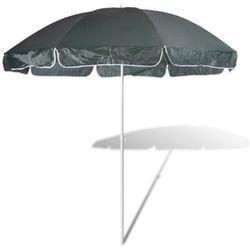 vidaXL Parasol plażowy, zielony. (8718475852100)