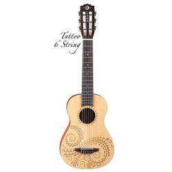 ukulele - 6 strunowe tat6 wyprodukowany przez Luna