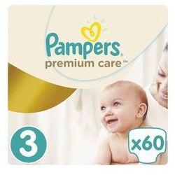 Pampers Pieluszki  premium care midi rozmiar 3, 60 szt., kategoria: pieluchy jednorazowe