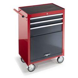 Wózek warsztatowy,wys. x szer. x głęb. 995 x 680 x 458 mm, 3 szuflady, 1 półka na narzędzia