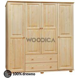 Woodica 13.szafa 4d2s środek 200x190x60