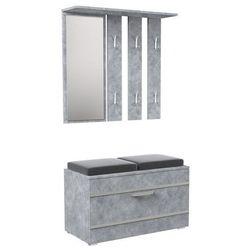 Garderoba z wieszakiem Malea - beton, GB BETON OPAL