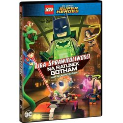 LEGO Liga Sprawiedliwości: Na ratunek Gotham. DVD (film)
