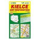 Kielce Góry Świętokrzyskie mapa samochodowa 1:20 000 - Wydawnictwo Kartograficzne