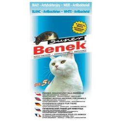 super benek antybakteryjny biały żwirek dla kota, marki Certech