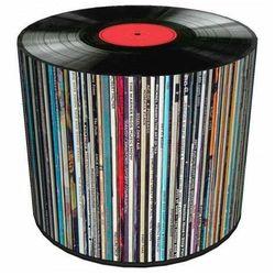 Okrągła pufa tapicerowana 17 wzorów - adelos 7x marki Producent: elior