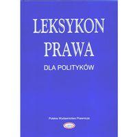 Leksykon prawa dla polityków, książka w oprawie twardej